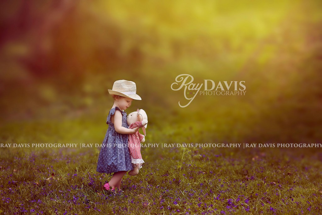 Ray Davis Photography - Child Portrait with Toy