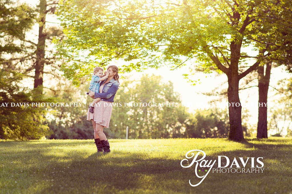 Ray Davis Photography - mother and son photography portrait