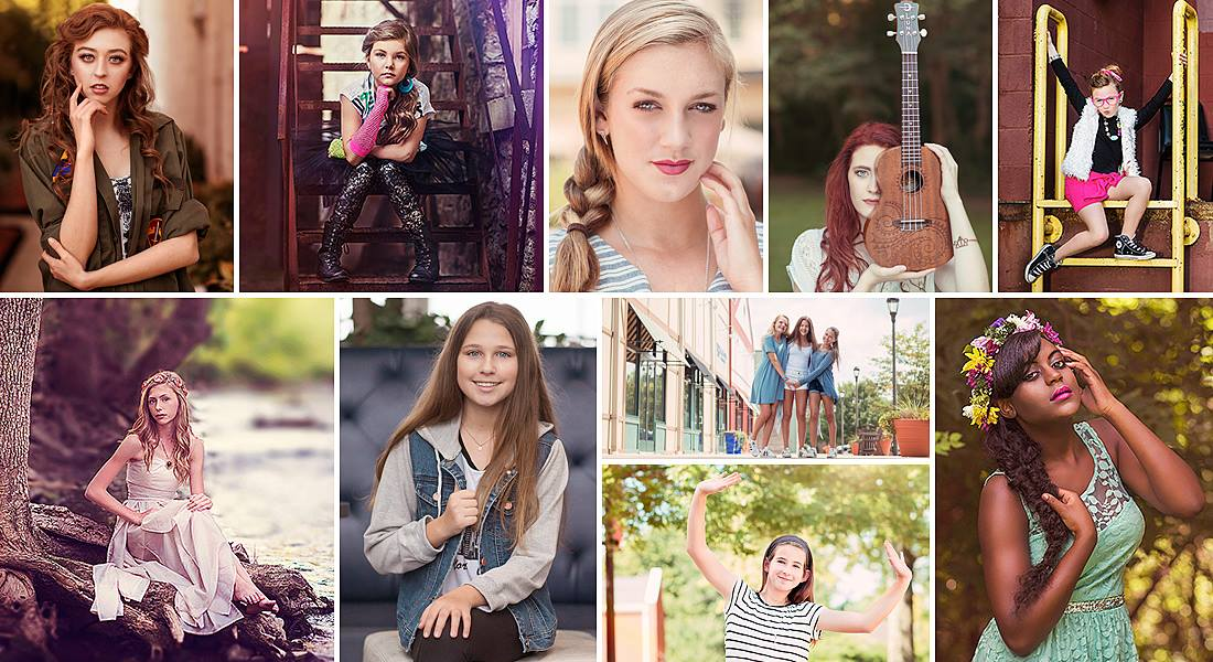 Louisville Senior Pictures, Tween Portraits, Portfolio
