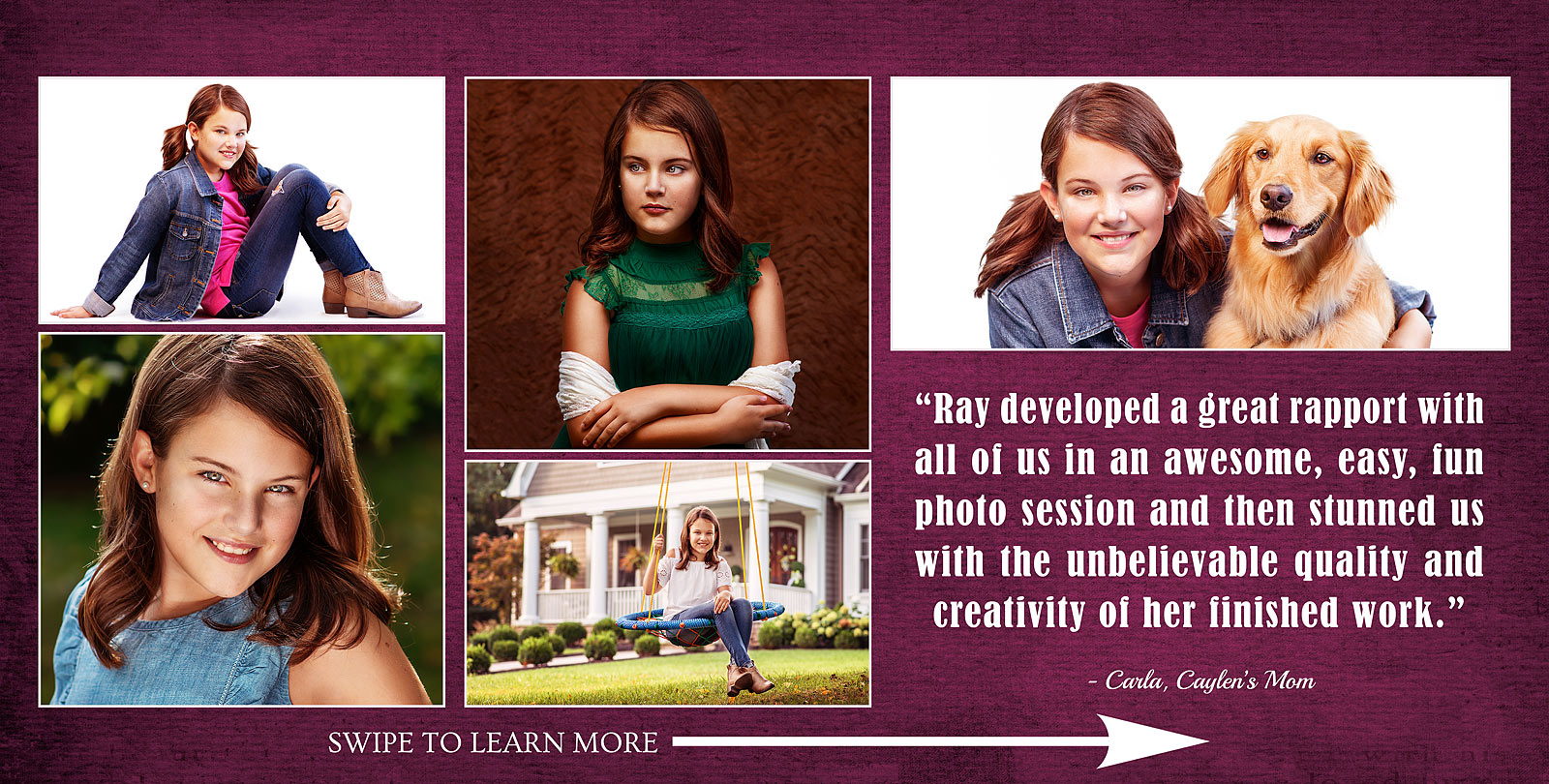 Louisville Tween Photographer review working with girls