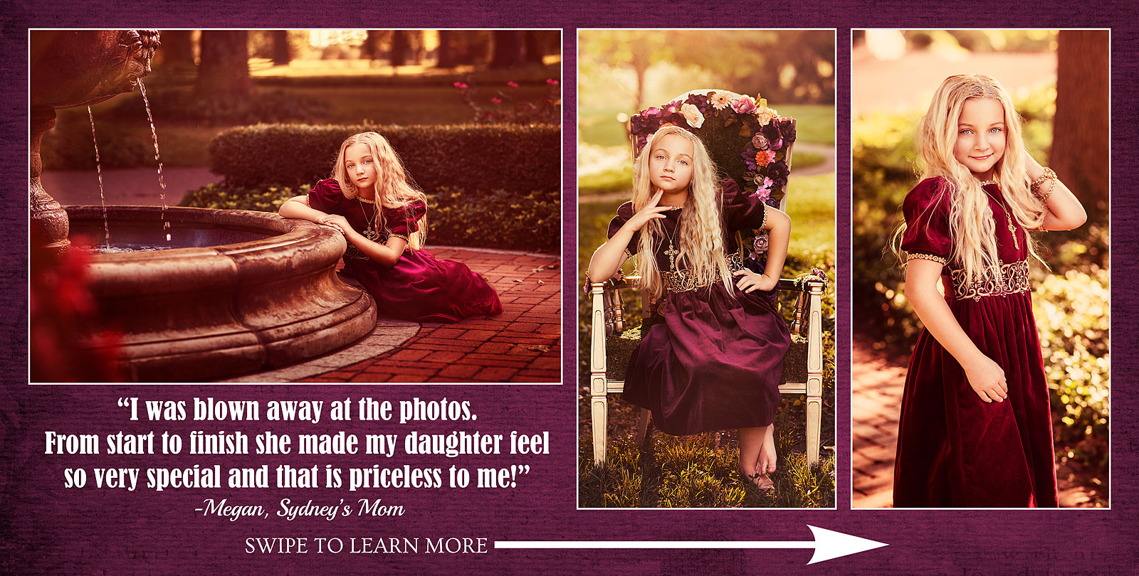Tween Pictures review by Mom of Little Girls Princess Session with Louisville Child Photographer
