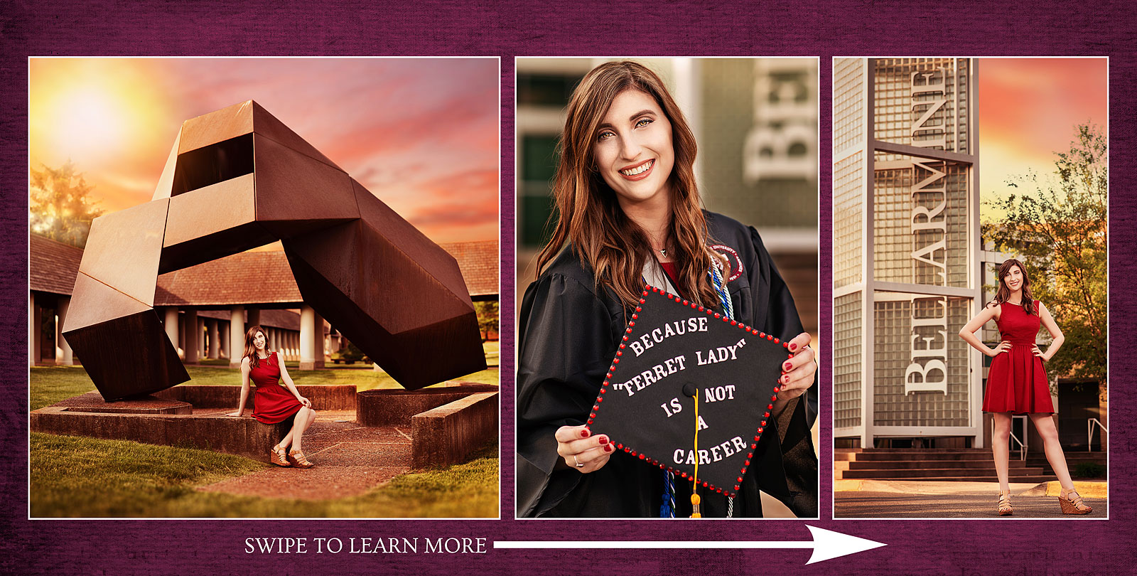 Bellarmine Graduation Portraits and Senior University Photos