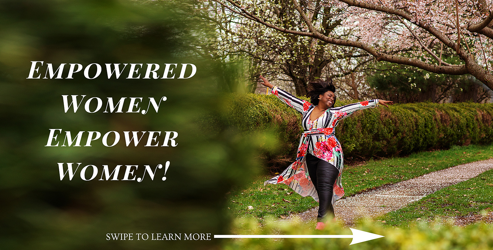 Louisville Empowered Women Portrait Session in the Spring