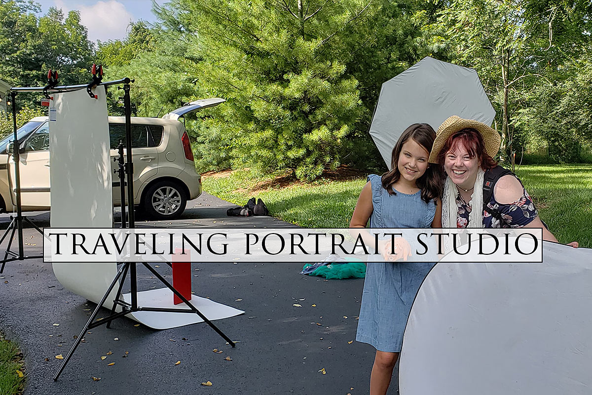 Louisville Traveling Portrait Studio with Ray Davis Photography