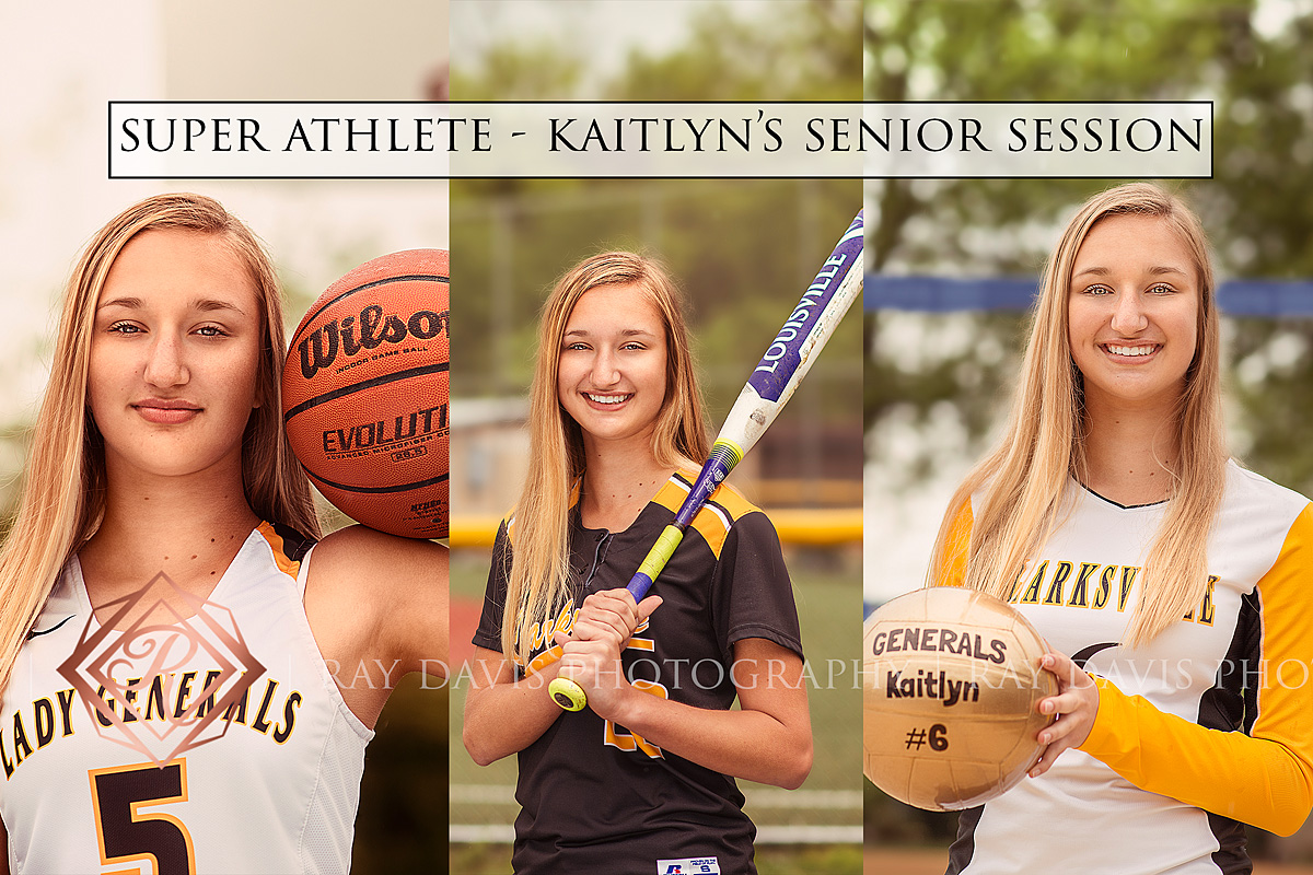 Louisville High School Senior Athlete featured playing sports basketball, softball, and volleyball