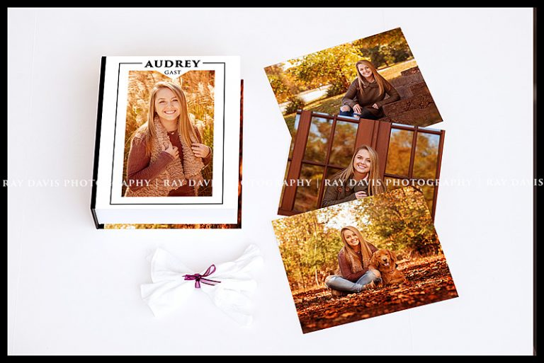 Printed photos of heirloom box collection order by Ray Davis Photography
