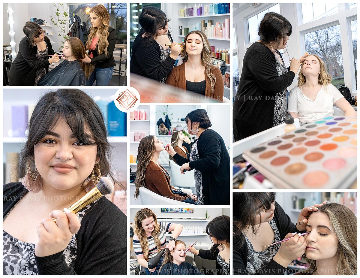 Ellies Makeup Artist in Louisville Hair Salon