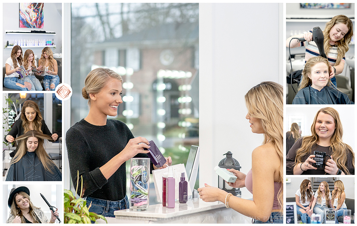 Social Media Marketing Pictures for Hair Salon Small Business in Louisville KY